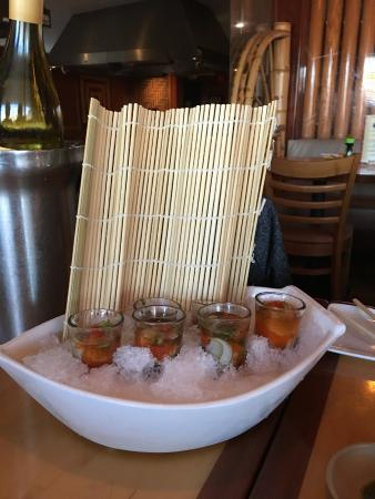Eatontown, NJ : oyster shooters