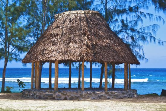 Samoan Fale in Amanave, West T...