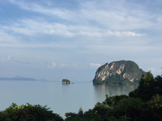 Esmeralda View Resort: View from restuarnat terrace