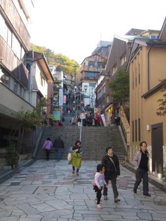 Ikaho Stone Steps: 石段
