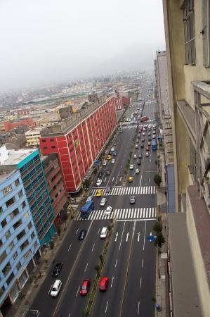 Pension Ibarra: Вид с балкона