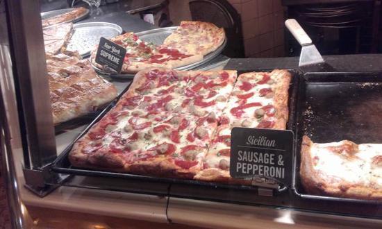 Sbarro: Las pizzas más ricas!