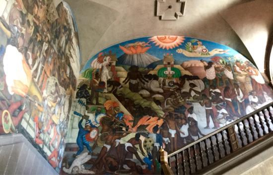 Diego Rivera Mural The Legend Of Quetzalcoatl Picture