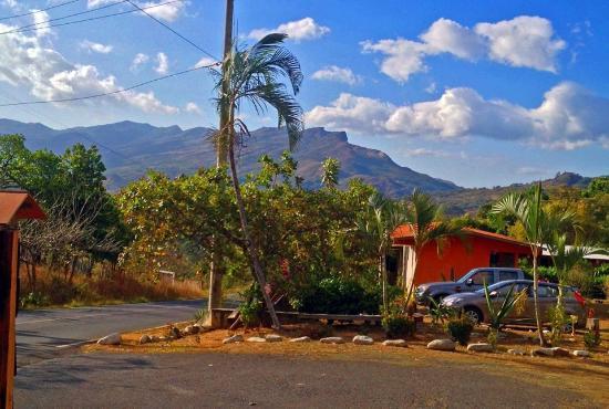 Hotel Santa Fe: Vista desde la entrada
