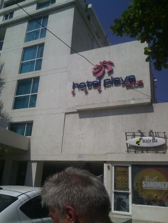 Playa Club Hotel : fachada