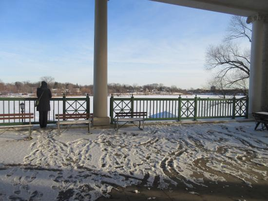 Como Lakeside Pavilion: view from pavillion
