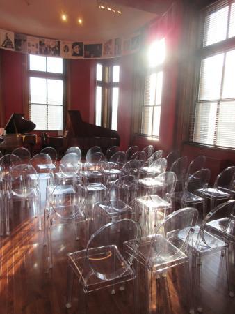 Schubert Club Museum: inside
