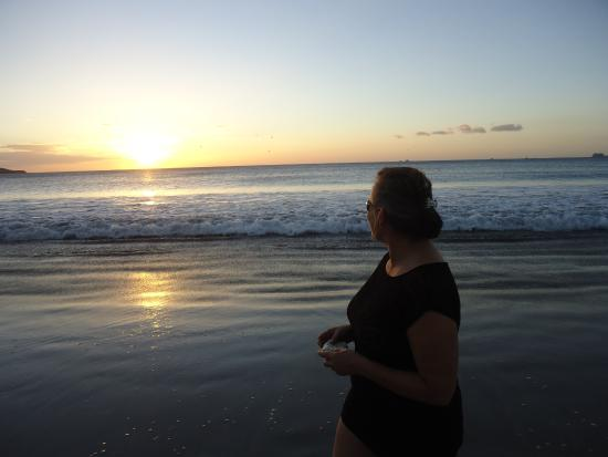 Flamingo Beach Resort & Spa: The sunsets were great