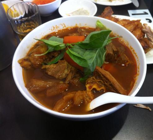 Eastwood, Australia: Spicy beef bo kho
