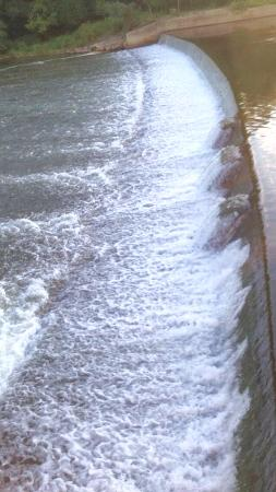 Bridgewater, NJ: Dam towards end of park