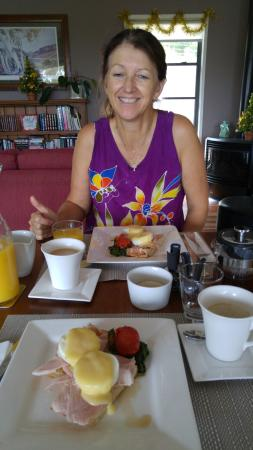 Imbil, Australia: Breakfast day one