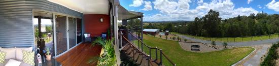 Imbil, Australia: Mary Valley Views B&B Panorama