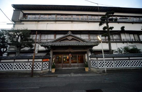 Yamaki Ryokan: 山喜旅館 正面入り口