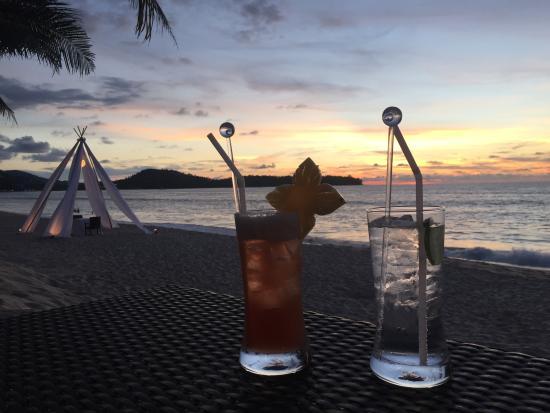 Casuarina Beach Restaurant: sundowner