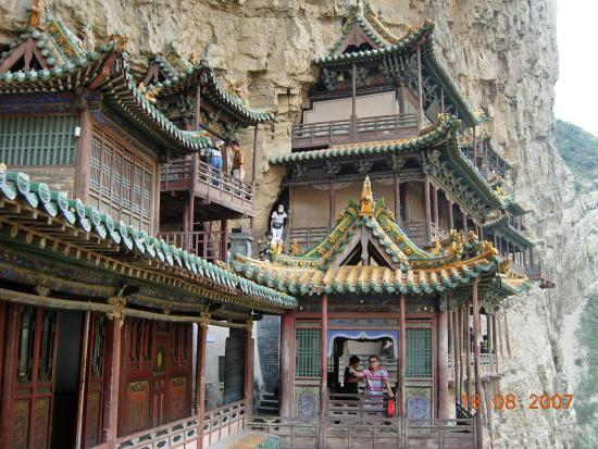 Hengshan Hanging Temple (Xuankong si): très belle visite
