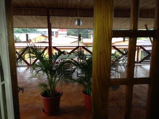 La Fortuna Suites: Balcony view from 2nd floor room