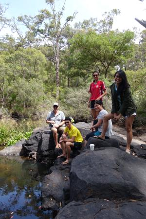 Margaret River Discovery Co. Tours: Checking out the fresh water ''lobsters''