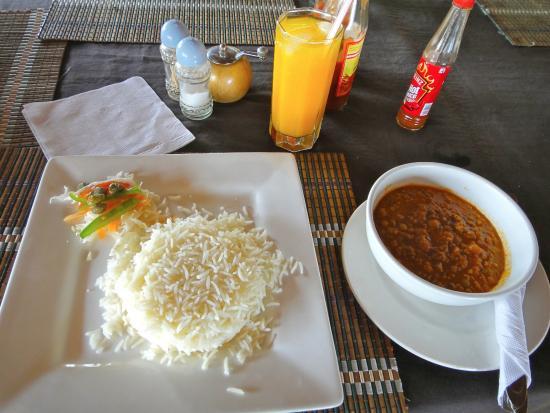 Swahili Beach Resort: 料理