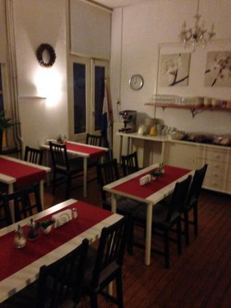 Hotel Friesland Garni: Ontbijtruimte