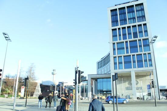 Hilton Liverpool City Centre: Hotel tampak depan