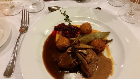 Hotel Quartier Latin: Repas du soir.