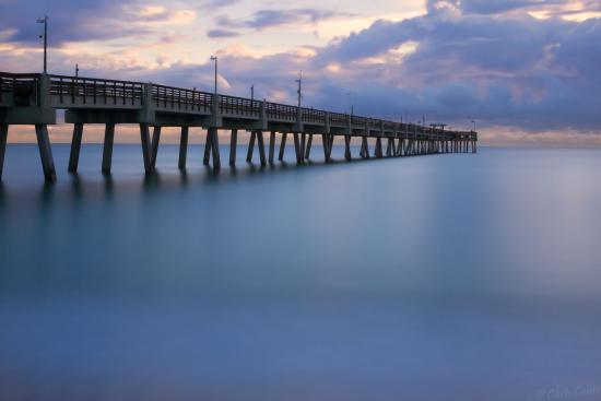 Dania Beach Pier Long Early Am Exposure Picture Of Dania Beach