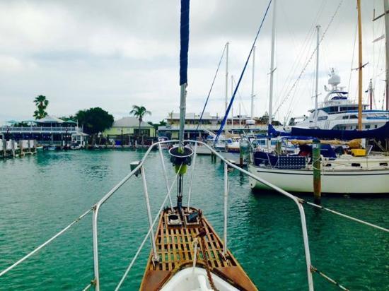 Key West Sailing Adventure: Heading into the Marina