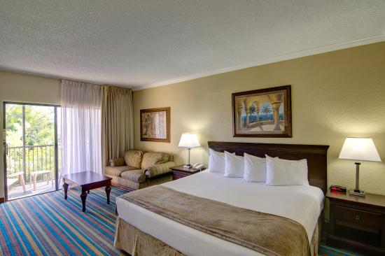 Boca Raton Plaza Hotel and Suites: Majesty King