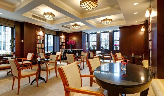 Library Hotel by Library Hotel Collection: Reading Room Library Hotel NYC