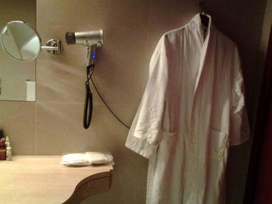 Domina Prestige St.Petersburg: Фэн,халаты,тапочки.