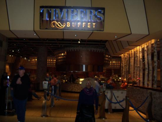 Timbers Buffet: BUFFET TO THE FOOD
