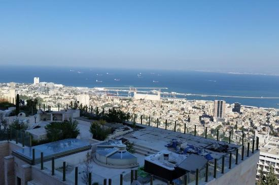 Crowne Plaza Hotel Haifa: View From My Hotel Room Balcony