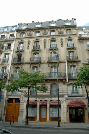 Hotel Bellevue et du Chariot d'Or: Façade/Building