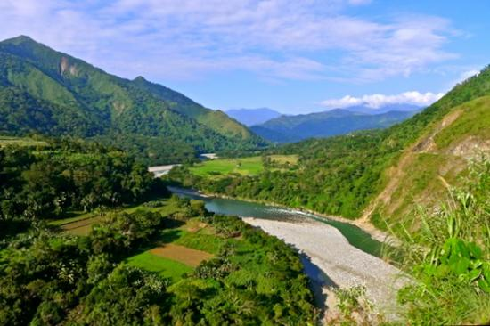 Bontoc, Филиппины: Serpentine - Chico River, North Luzon, Philippines