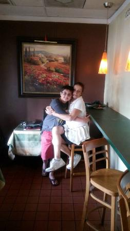 Jensen Beach, FL: Owner Suzy with grandson. 42 years in business,