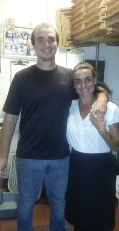 Jensen Beach, FL: Suzy's Daughter Diana with her son Johnny. 3 generations of family working!