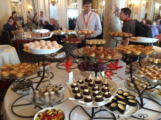 Buffet Lunch Desert Selection Photo De