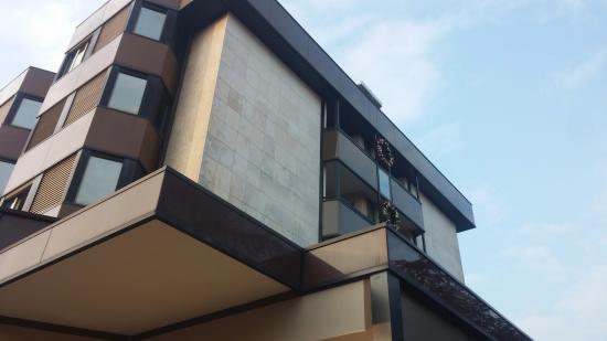 Abano Ritz Terme: struttura