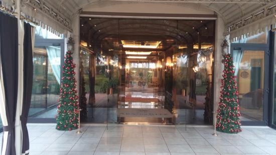Abano Ritz Terme: entrata principale