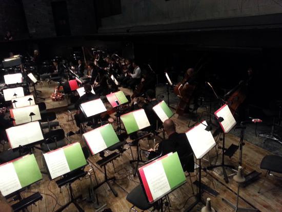 Teatro Carlo Felice : Orchestra pit