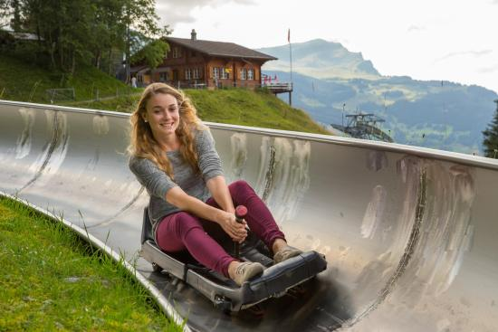 Grindelwald, Suiza: Rodelbahn
