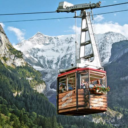 Pfingstegg : luftseilbahn als Alphüttli