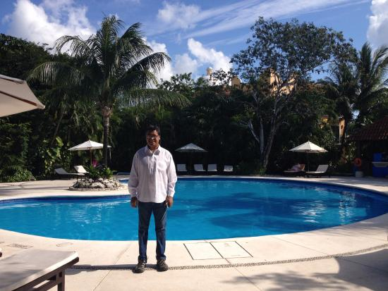 Royal Club at Occidental Grand Cozumel: smaller pool area