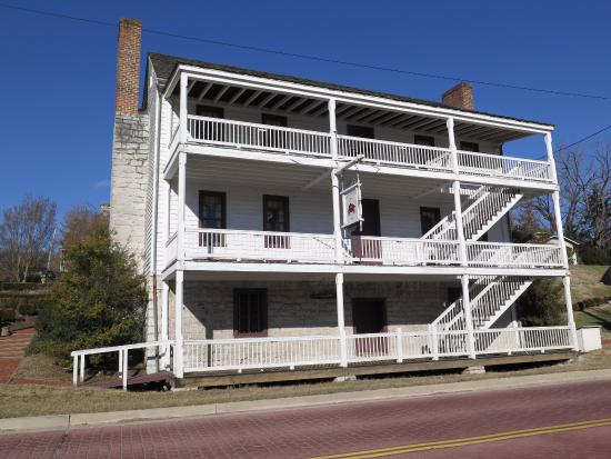 Kingsport, TN: This photo shows the facade of the main house from Netherland Inn Road.
