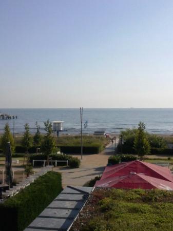 Hotel Germania: Blick aufs Meer