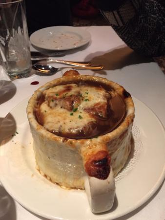 Onion soup - Foto di The Capital Grille, Chicago - TripAdvisor