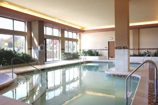 Embassy Suites by Hilton St. Louis St. Charles: Indoor, heated salt water pool