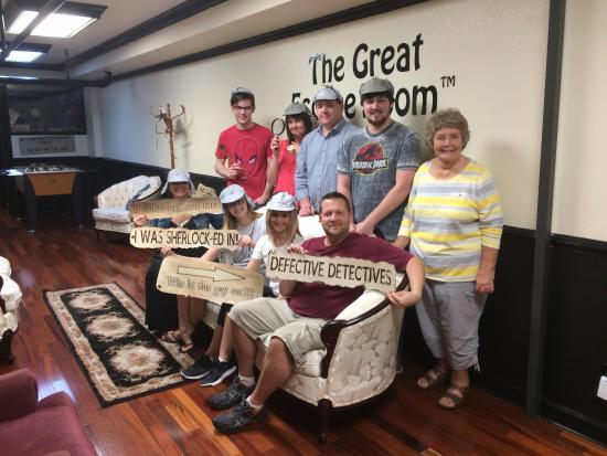 Great Escape Room of Orlando - Picture of The Great Escape Room ...