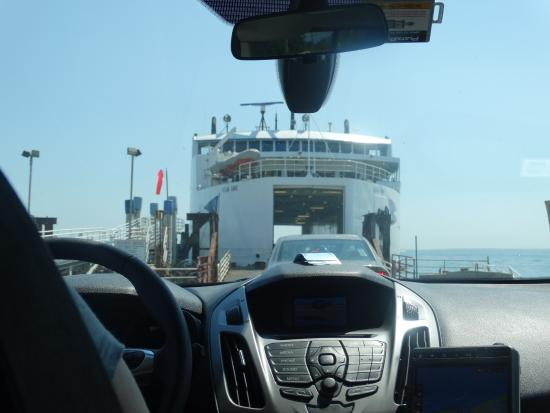 Orient, NY: the ferry
