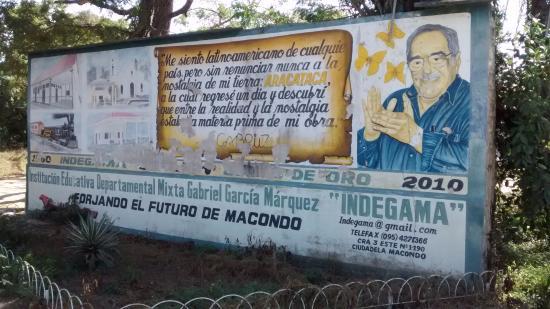 Aracataca, Κολομβία: Mural